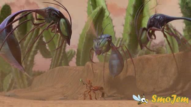 Мудрая Королева приговаривает его к проживанию среди муравьев до тех пор...