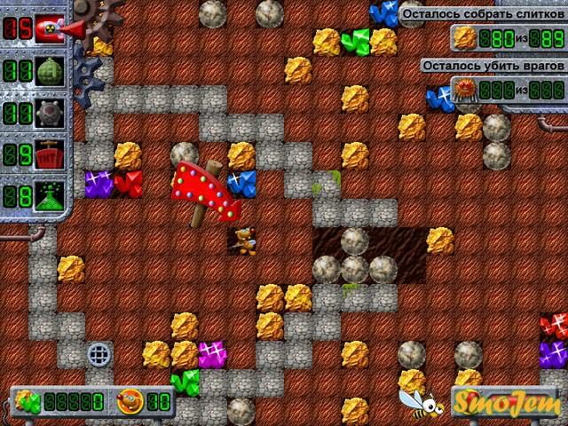 Игра Золотой крот - скачать, играть, на компьютер - Алавар.