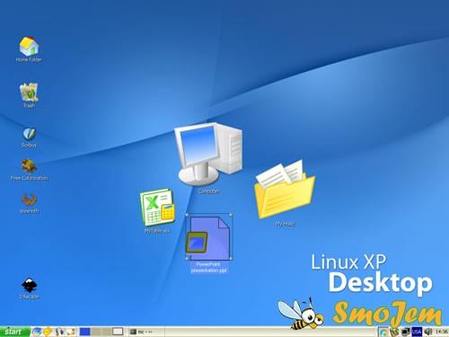 linux xp desktop скачать: