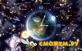 Zodiac Clock 3D