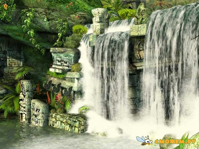Mayan Waterfall 3D Screensaver 1.0 Размер 16 Мб. Rapidshare