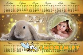 Календари 2011. Кролики