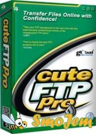 CuteFTP 8.0.7 Professional Edition Build 06.05.2007.1