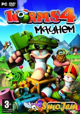 Worms 4 Mayhem RUS