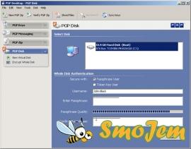 PGP Desktop Professional v9.6.2