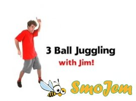 �������� ������������� - 3 ������� ���� / How to Juggle - 3 Easy Steps